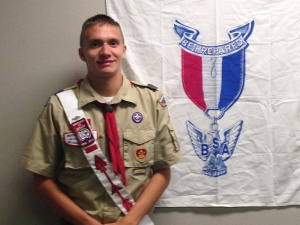 Jacob Vassolotti, Eagle Scout